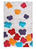 Saral Home Soft Cotton Bathmat (Red, 50x80cm)