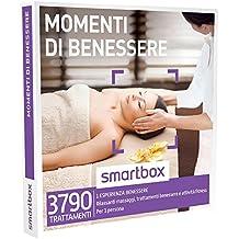 SMARTBOX - Cofanetto Regalo - MOMENTI DI BENESSERE - Rilassanti Massaggi, trattamenti benessere e attività fitness