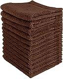 Utopia Towels, asciugamani di lusso, 33x 33cm, confezione da 12
