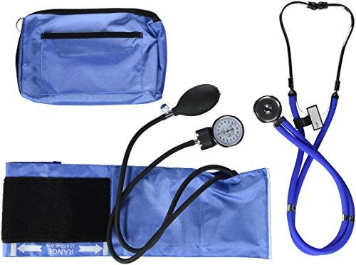 NCD Medical/Prestige Medical  Set mit Aneroid-Manometer und Doppelkopf-Stethoskop, Himmelblau -