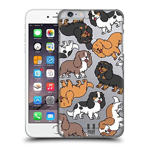 Head Case Designs Cavalier King Charles Spaniels Pattern Razze di Cani 3 Cover Dura per Parte Posteriore Compatibile con iPhone 6 Plus/iPhone 6s Plus
