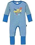 Schiesser Jungen Zweiteiliger Schlafanzug Baby Anzug mit Vario, (blau 800), 62