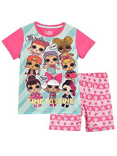 Lol surprise! pigiama a maniche corta per ragazze dolls rosa 9-10 anni