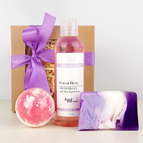 ofertas para el dia de la madre Bosque morado Pamper–Juego de toallas de baño–Vegan–Hecho a mano & natural–regalo para su–relajación–Aromaterapia–regalo de cumpleaños–regalo para el día de la madre