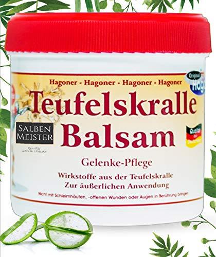 Teufelskralle-Balsam mit Aloe-Vera | Bei Muskelschmerzen und Gelenkbeschwerde | Teufelskralle-Creme | Teufelskralle-Salbe | Schmerz-Gel - 200 ml