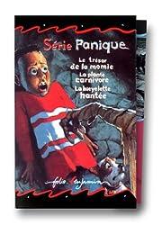 Panique, 3 volumes : La Bicyclette hantée - La Plante carnivore - Le Trésor de la momie