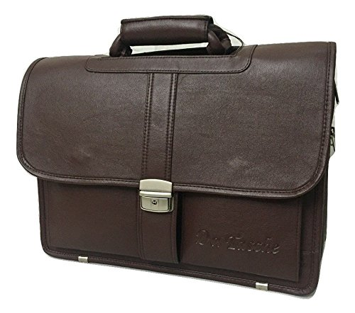 Apnav Da Tasche Brown Laptop Executive Bag