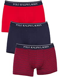 Ralph Lauren - Boxer - Homme multicolore Red Navy Stripe