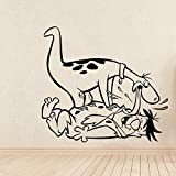 Schöne dinosaurier wandaufkleber pvc abnehmbare für kinderzimmer wohnkultur diy pvc dekoration...