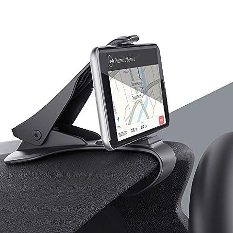 Car Phone Holder, TUOYA Universal Adjustable Dashboard Phone Mount Cradle,