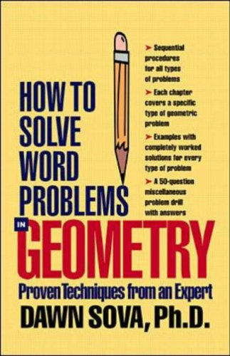 How to Solve Word Problems in Geometry (How to Solve Word Problems Series)
