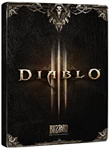 Diablo 3 III Steelbook ONLY -NO GAME INCLUDED- PC PS3 XBOX 360 AMAZON EXCLUSIVE
