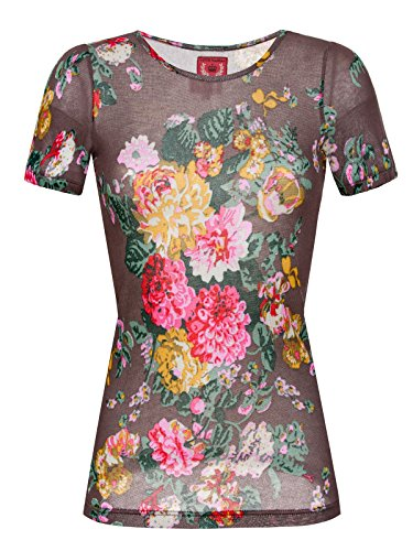 Vive Maria -  T-shirt - Floreale - Donna multicolore Small