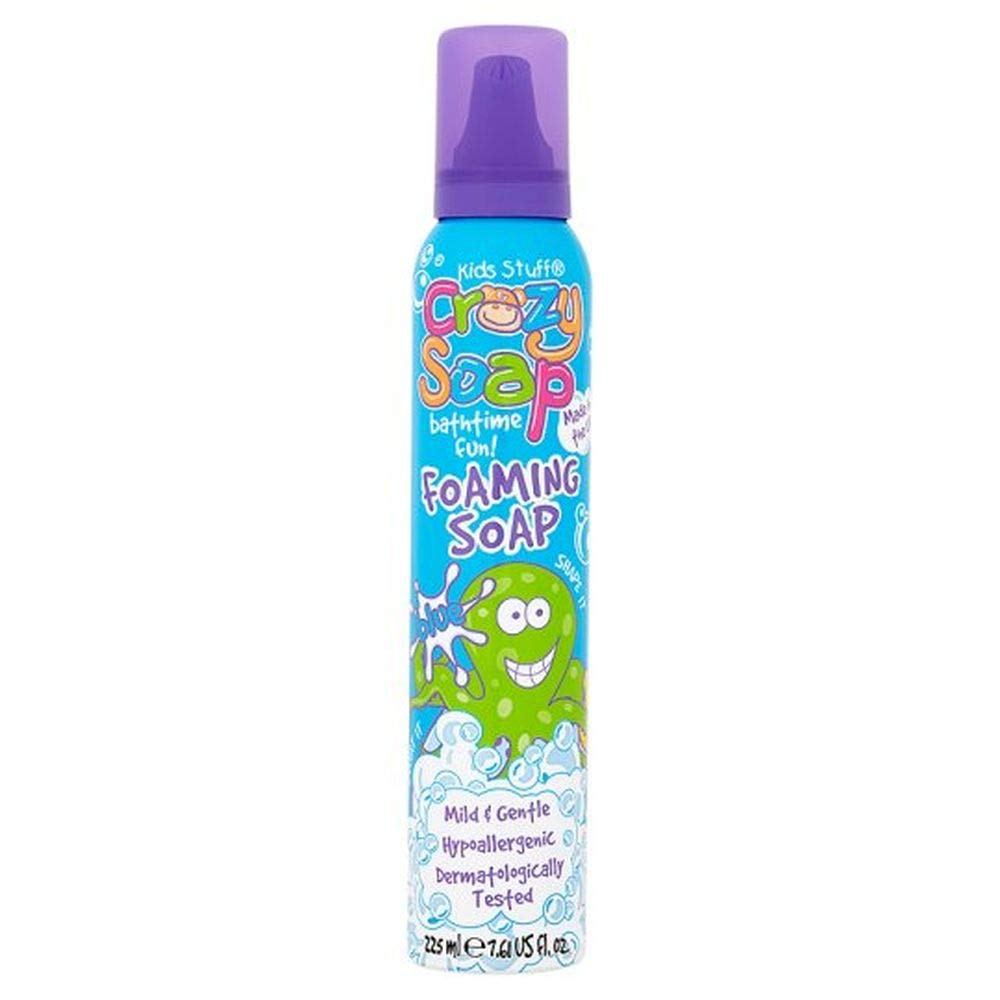 Kids Stuff Crazy Foam Soap, Blue
