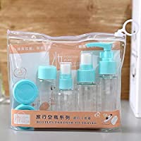 MAX HOME® Plastic Portable Travel Cosmetics Bottles Plastic Pressing Spray Bottle for Makeup, Cosmetic, Toiletries Liquid Containers Bottles