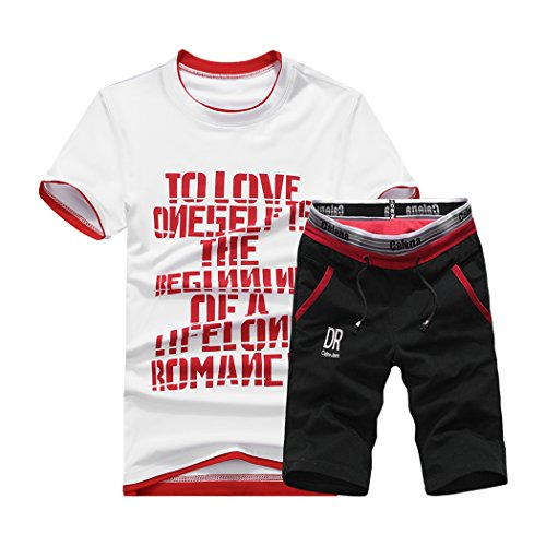 Ever Original Outfits Beste (WALK-LEADER Herren Trainingsanzug, Figur Gr. XXL, rot)