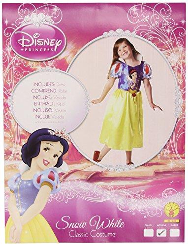 Imagen de rubie`s  disfraz infantil de blancanieves clásico 881239 m