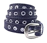 CAPE9 Premium Quality Women's Girl's Ladies Canvas Cloth Cotton Casual Belt with Stylish Trendy Buckle Strap Ideal for Jeans Trousers Cargo Joggers - 2 CMS (0.75 Inches) Wide