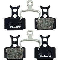 Gekors - Pastillas de Freno de Disco para Fórmula The One/R0/R1/RX/C1/Mega, Semi-Metallic(2 Pairs)