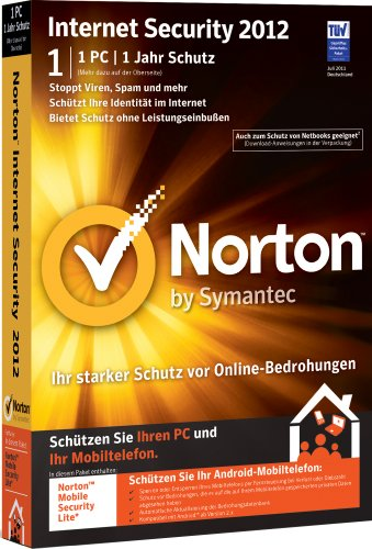 Norton Internet Security 2012 - 1 PC - (inkl. Update 2013)