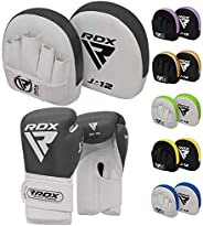 RDX Kids Boxing Gloves and Focus Pads Set   Youth Hook & Jab Target Mitts with Punching gloves   Junior Ha