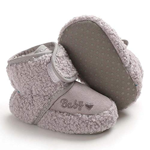 Babycute Baby Boys Girls Winter Autumn Boots Cosy Sheepskin Booties Snow First Walking Shoes