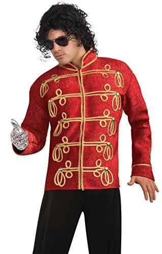 Rubie's Michael Jackson Military Jacke rot Deluxe für Erwachsene