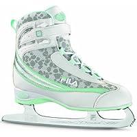 Fila Donna - Patines de hielo para mujer blanco white/water green Talla:37.5
