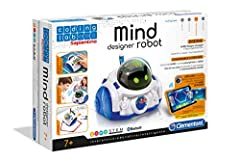 Idea Regalo - Clementoni 12087 - Mind Designer Robot Educativo Intelligente, 6 - 10 anni