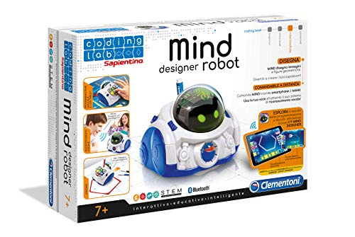 Clementoni 12087 Mind Designer Robot Educativo Intelligente 6 10 anni