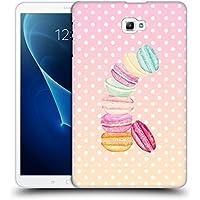 Ufficiale Monika Strigel Caramella Macarons Cover Retro Rigida per Samsung Galaxy Tab A 10.1 (Finiture In Pelle Caramella)