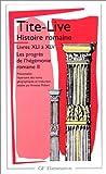 Histoire romaine, livres XLI à XLV