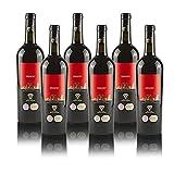 """Vino Rosso""""Meridio"""" Primitivo & Syrah IGP Puglia 2015 Masseria Barone Melodia - Box 6 bottiglie da 750 ml"""
