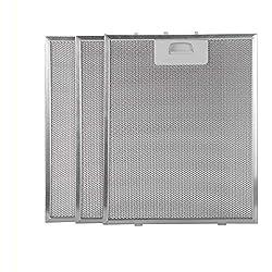 Filtro campana extractora 320x260 (paquete 3)