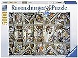 Ravensburger - Puzzles 5000 piezas, diseño La Capilla Sixtina (17429...