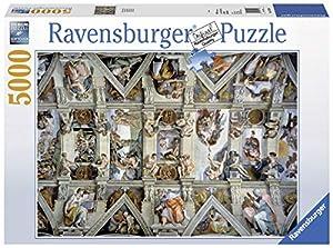 Ravensburger-17429 4 Puzzle 5000 Piezas La Capilla Sixtina, (17429 4)