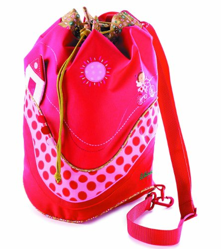 Lilliputiens Sac de Gym Liz Sac de Sport Enfant, 45 cm, 15 L, Multicolore