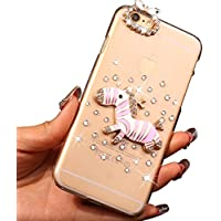 Sunroyal® Ultra Sottile Bling Duro Back Custodia per Apple iphone