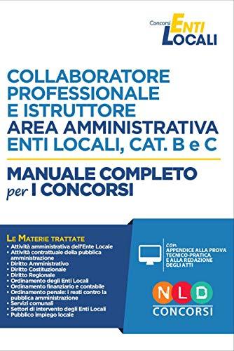 Collaboratore professionale e istruttore area
