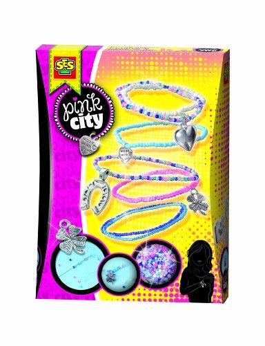 SES 14322 - Glücksarmbänder Pink City