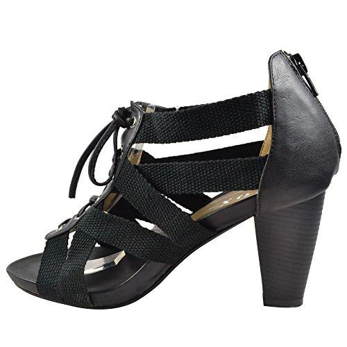 Unbranded (JOXY) , Sandales pour femme Noir - noir