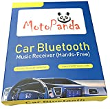 #9: Motopanda Car Wireless Bluetooth Connector Kit Player Adapter with 3.5mm Jack Aux Cable
