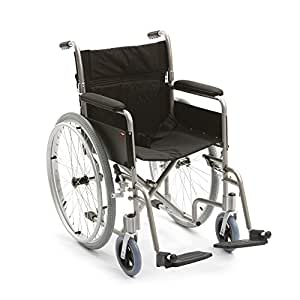 """Drive Enigma Aluminium Self-Propelled Folding Wheelchair with 18"""" Seat Width"""