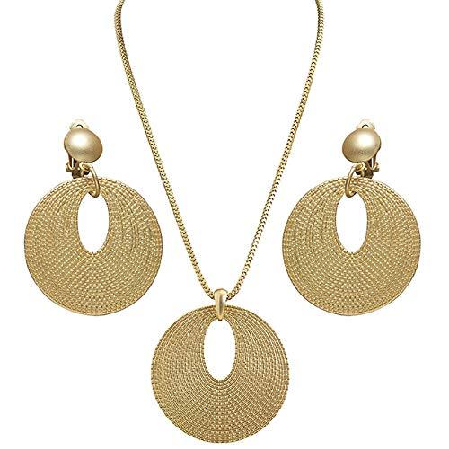 WIDMANN Aptafêtes-AC5400-Set Schmuck Römische Halskette und Ohrringe
