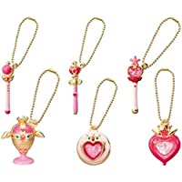 Sailor Moon Die-cast Charm Part 2~Figure Swing Keychain~Complete set of 6