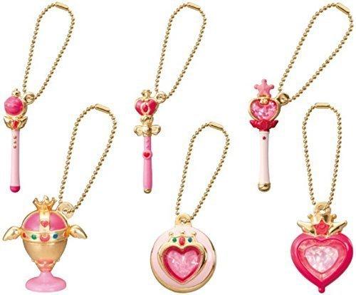 Sailor Moon Die-cast Charm Part 2~Figure Swing Keychain~Complete set of 6