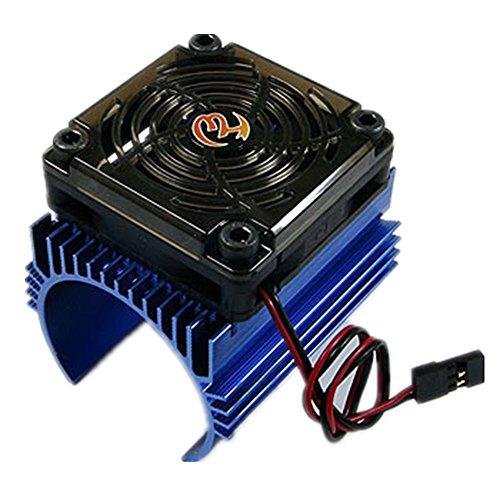 Hobbywing Motor Radiator Herz Sink + 5V Fan Geeignet 4465 Motoren für 1/8 RC Auto