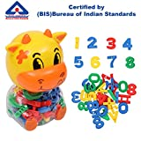 #7: Kurtzy DIY Learning Numerical Creative Numbers Educational Puzzle Toy Set Multi Color for Kids Children