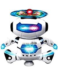 32c08bbf274 Ballerino elettronico di danza Smart Space Robot Astronauta Bambini  Giocattoli Luci Musicali Rawdah