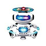 Giocattoli robot,Ballerino elettronico di danza Smart Space Robot Astronauta Bambini Giocattoli Luci Musicali Rawdah (multicolore)